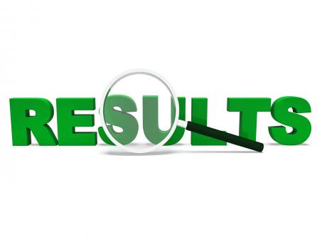 Free Stock Photo of Results Word Shows Score Result Or Achievement