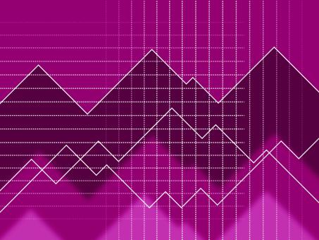 Free Stock Photo of Purple Spikes Background Means Peaks And Jagged Lines