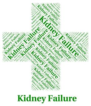 Free Stock Photo of Kidney Failure Shows Lack Of Success And Affliction