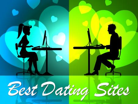 Free Stock Photo of Best Dating Sites Shows Better Successful And Good