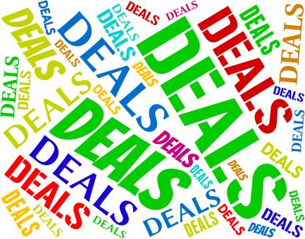 Free Stock Photo of Deals Words Represents Agreement Text And Dealings
