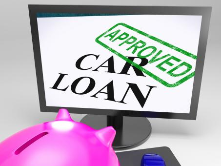 Free Stock Photo of Car Loan Approved Shows Vehicle Credit Confirmed