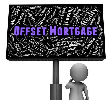 Free Stock Photo of Offset Mortgage Represents Home Loan And Board
