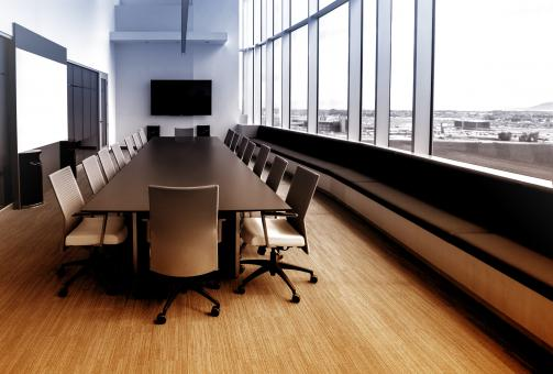 Free Stock Photo of Meeting Room - Colorized