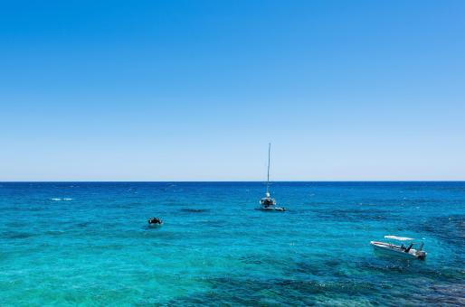 Free Stock Photo of Photo of sea in protaras