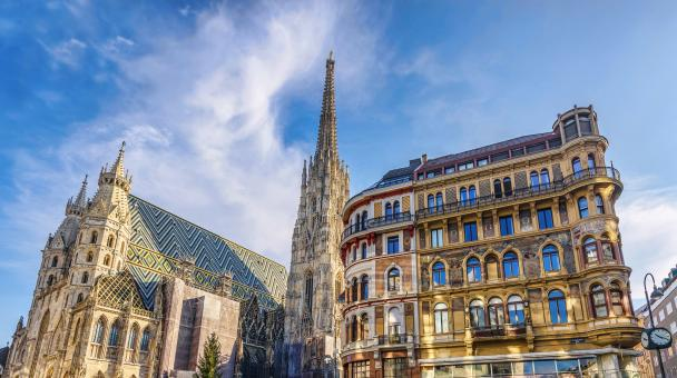 Free Stock Photo of Saint stephen cathedral on stephansplatz in vienna