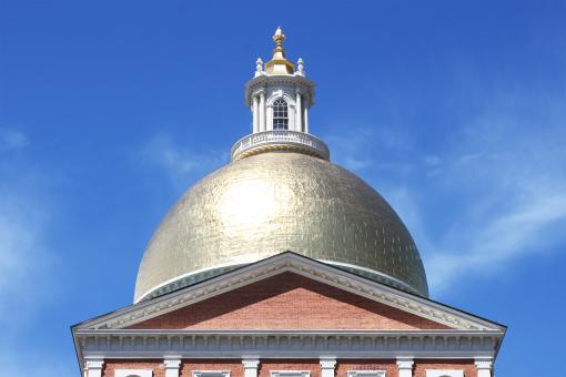 Free Stock Photo of Massachusetts state house in Boston