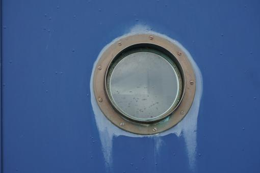 Free Stock Photo of Bulls Eye Window