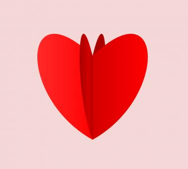 Free Stock Photo of Heart Flip Vector