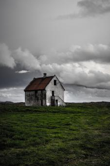 Free Stock Photo of Haunted House