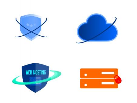 Free Stock Photo of Secure Web Hosting Icons