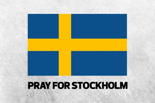 Free Stock Photo of Pray for Stockholm