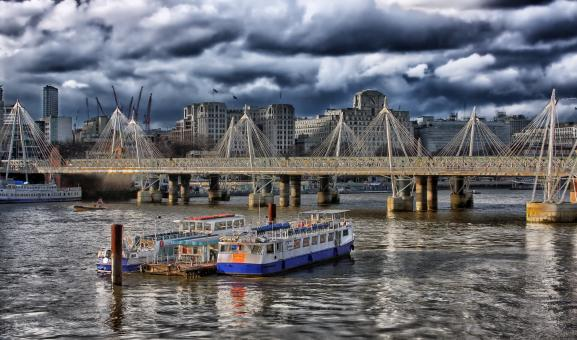 Free Stock Photo of River Thames