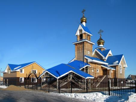 Free Stock Photo of Church in Russia