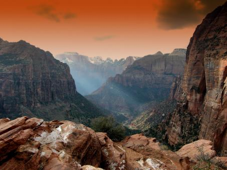 Free Stock Photo of Zion Park