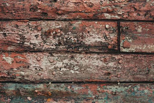 Free Stock Photo of Grunge Painted Wood Texture