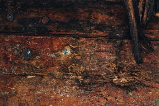 Free Stock Photo of Old Dark Grunge Wood Texture