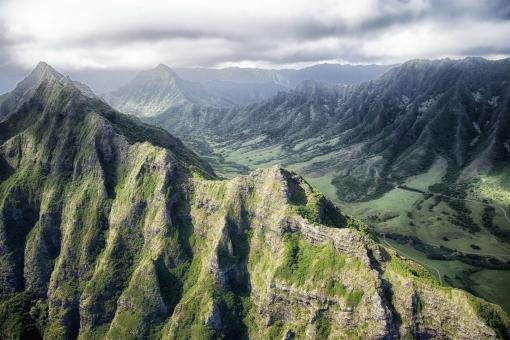 Free Stock Photo of Mountains of Hawaii