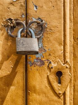 Free Stock Photo of Pad Lock