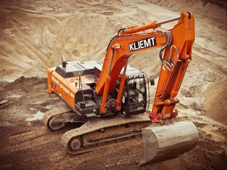 Free Stock Photo of Excavator on Construction Site