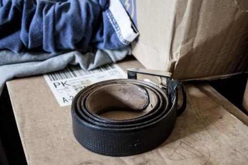 Free Stock Photo of Cheap Belt and Clothes