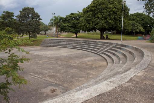 Free Stock Photo of Amphitheater in a Park