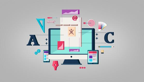 Free Stock Photo of Web Design - Website Layout - Illustration
