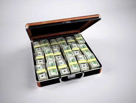 Free Stock Photo of Money Case