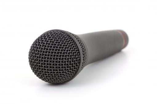 Free Stock Photo of Mic Closeup