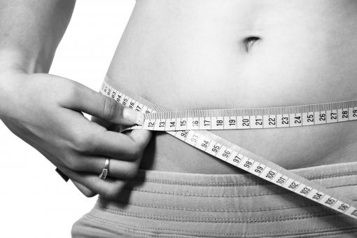 Free Stock Photo of Measuring Belly
