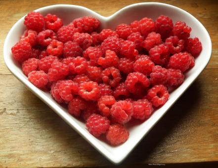 Free Stock Photo of Heart Bowl