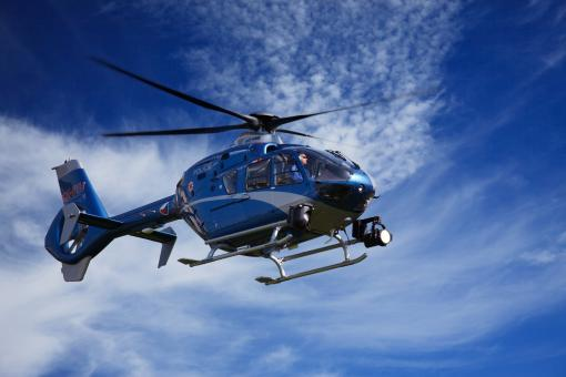 Free Stock Photo of Police Helicopter
