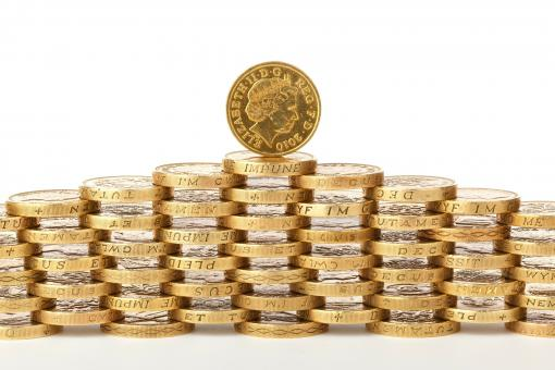Free Stock Photo of Coins of England