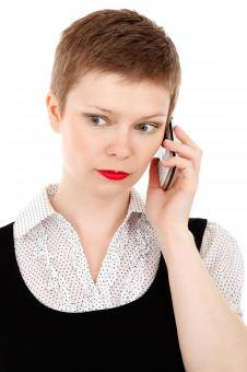 Free Stock Photo of Clerk Woman