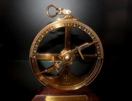 Free Stock Photo of 16th-Century Portuguese Nautical Astrolabe - European Age of Discovery