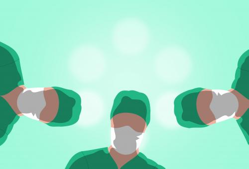 Free Stock Photo of Surgery - Surgeons Ready to Operate