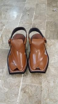 Free Stock Photo of Brown Leather Sandals