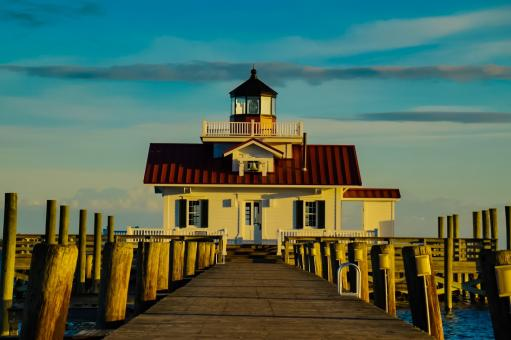 Free Stock Photo of Manteo Lighthouse