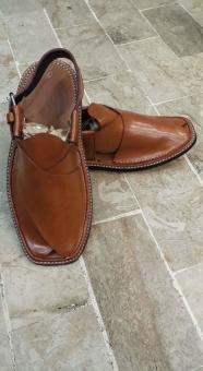 Free Stock Photo of Brown Leather Open Shoes