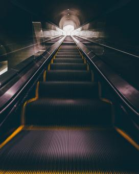 Free Stock Photo of Escalator at the Store
