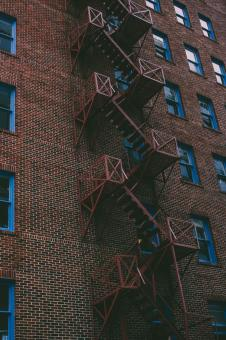 Free Stock Photo of Fire Escape
