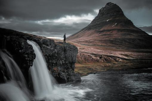 Free Stock Photo of Kirkjufell Mountain in Iceland