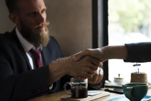 Free Stock Photo of Reaching an Agreement