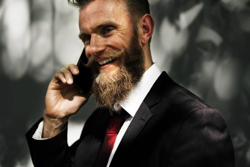 Free Stock Photo of Man with Beard