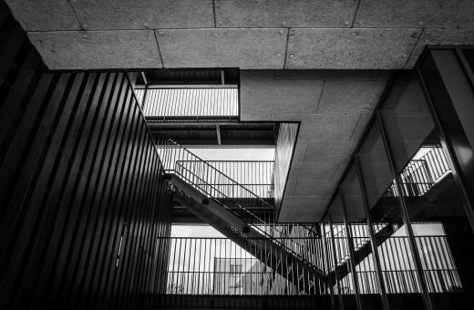 Free Stock Photo of Urban Staircase