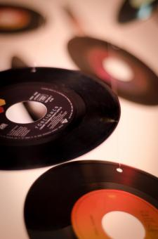 Free Stock Photo of Disc Records