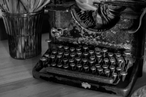 Free Stock Photo of Old Typewriter