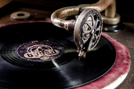 Free Stock Photo of Old Vinyl