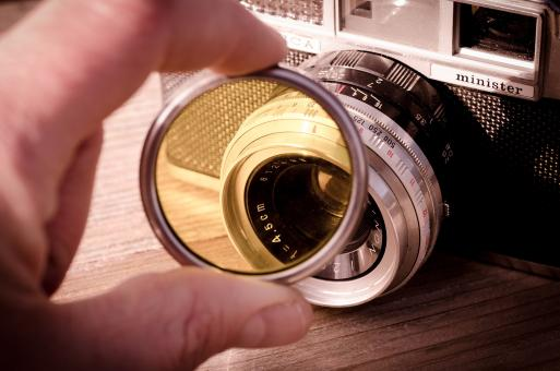 Free Stock Photo of Yashica Camera