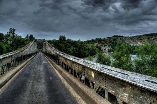 Free Stock Photo of Old Bridge